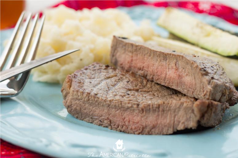 Cast Iron Skillet Steaks - 35 Creative Potluck Themes
