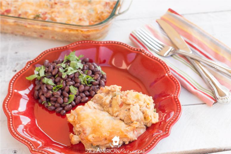 King Ranch Chicken Casserole - 35 Creative Potluck Themes
