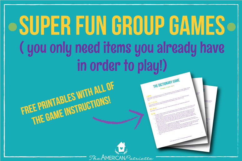 graphic relating to Printable Paper Games for Adults identified as Enjoyable Community Video games + No cost Printable with Guidelines! - The