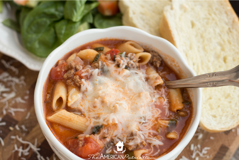 Healthy and Flavorful Pizza Soup