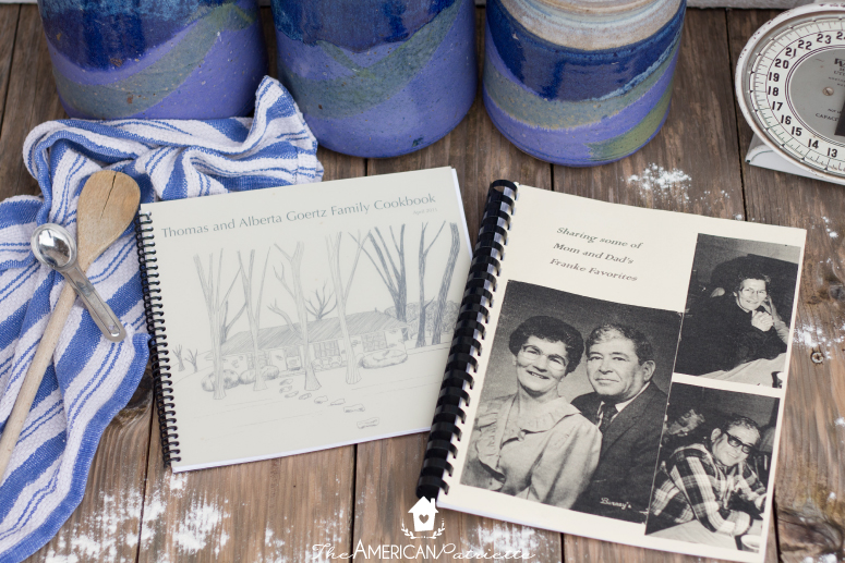 Eight sentimental christmas gift ideas the american patriette eight sentimental christmas gift ideas diy family cookbook solutioingenieria Image collections