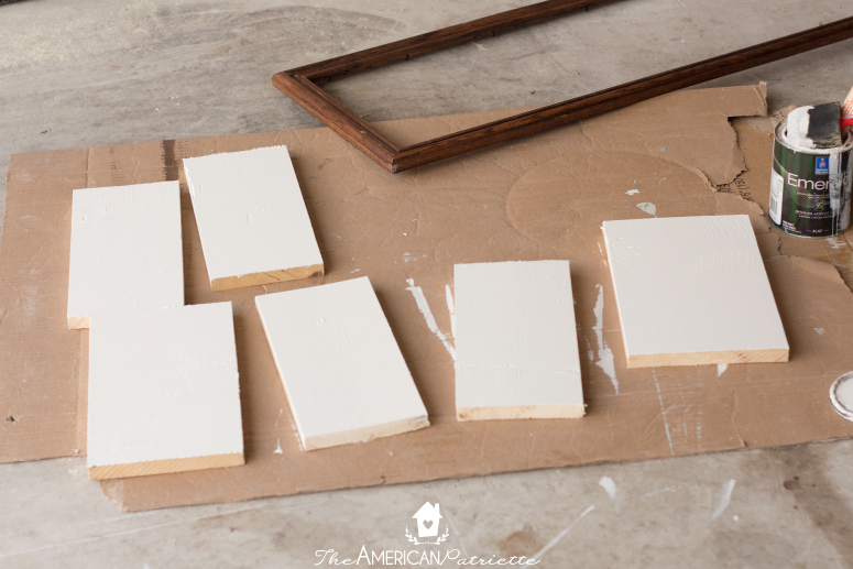 Diy Painted Wooden Plank Sign 3 The American Patriette