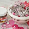Strawberry Nutella Valentine Puppy Chow ...
