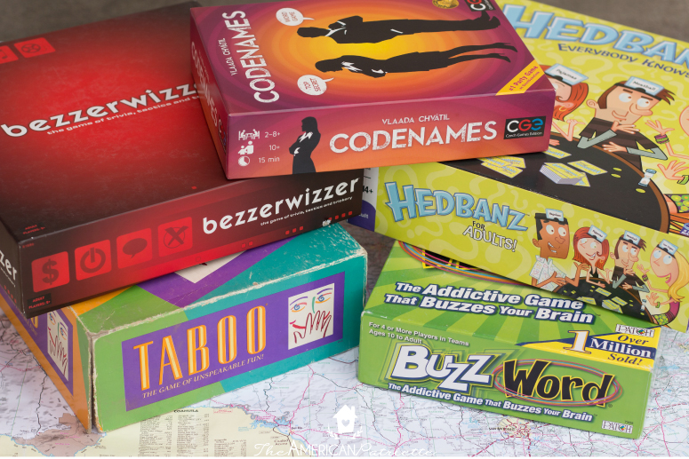 board games for road trips the american patriette