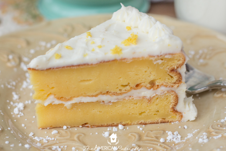 Incredibly Moist And Delicious Lemon Pudding Cake The Best Lemon