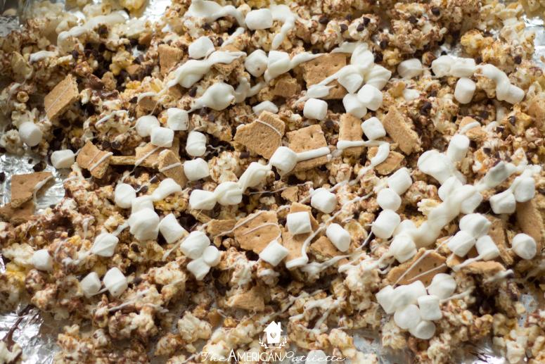 Easy S'mores Popcorn Recipe