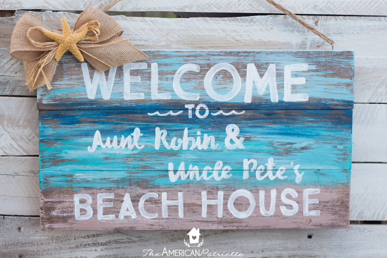 welcome signs diy - 775×517