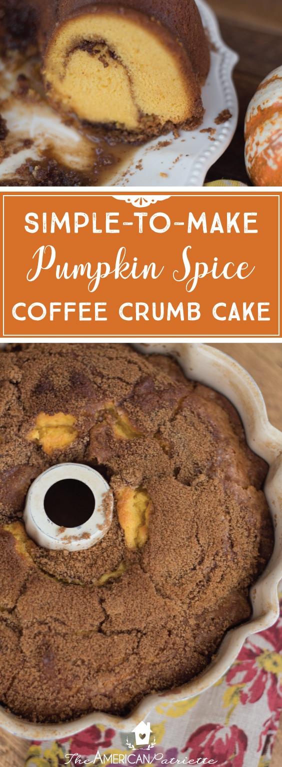 Crumb Cake Using Box Cake Mix
