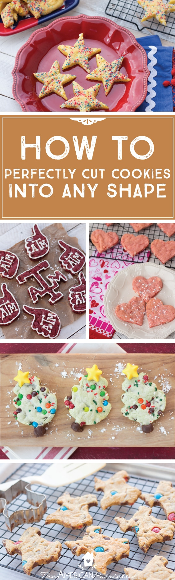 How to perfectly cut cookies into any shape