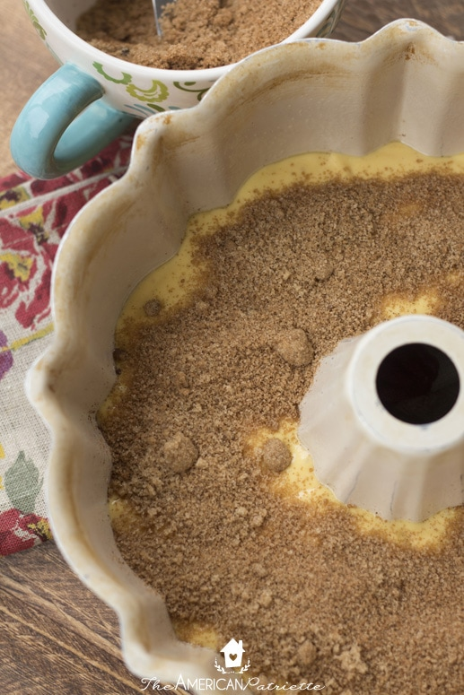 Pumpkin Spice Coffee Crumb Cake