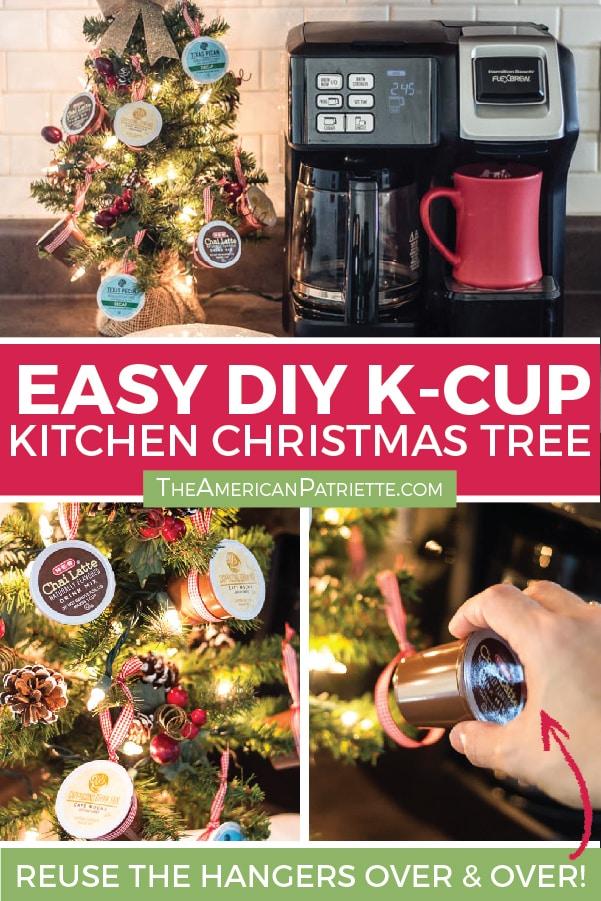 K On Christmas.How To Make A K Cup Coffee Christmas Tree The American