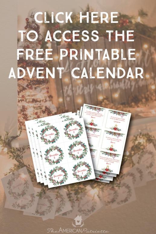 Printable 2017 Advent Calendar