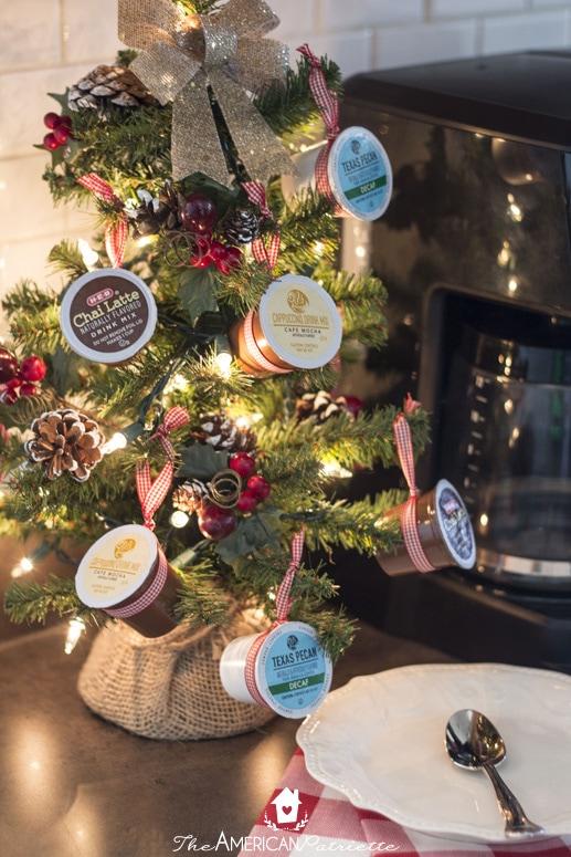 Coffee Christmas Tree.K Cup Coffee Christmas Tree 5 The American Patriette