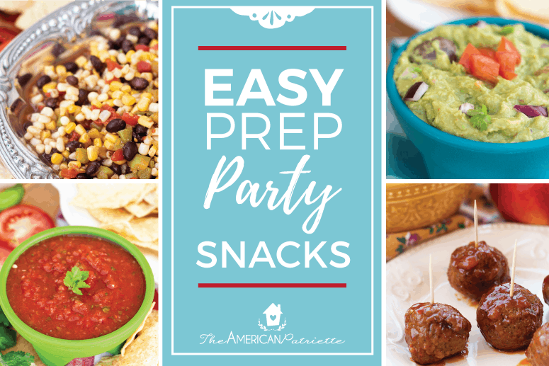 Easy Party Snacks And Etizers