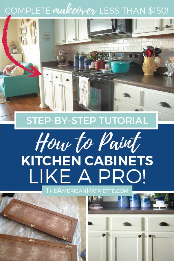 How To Paint Kitchen Cabinets Like A Pro And On A Budget Artboard