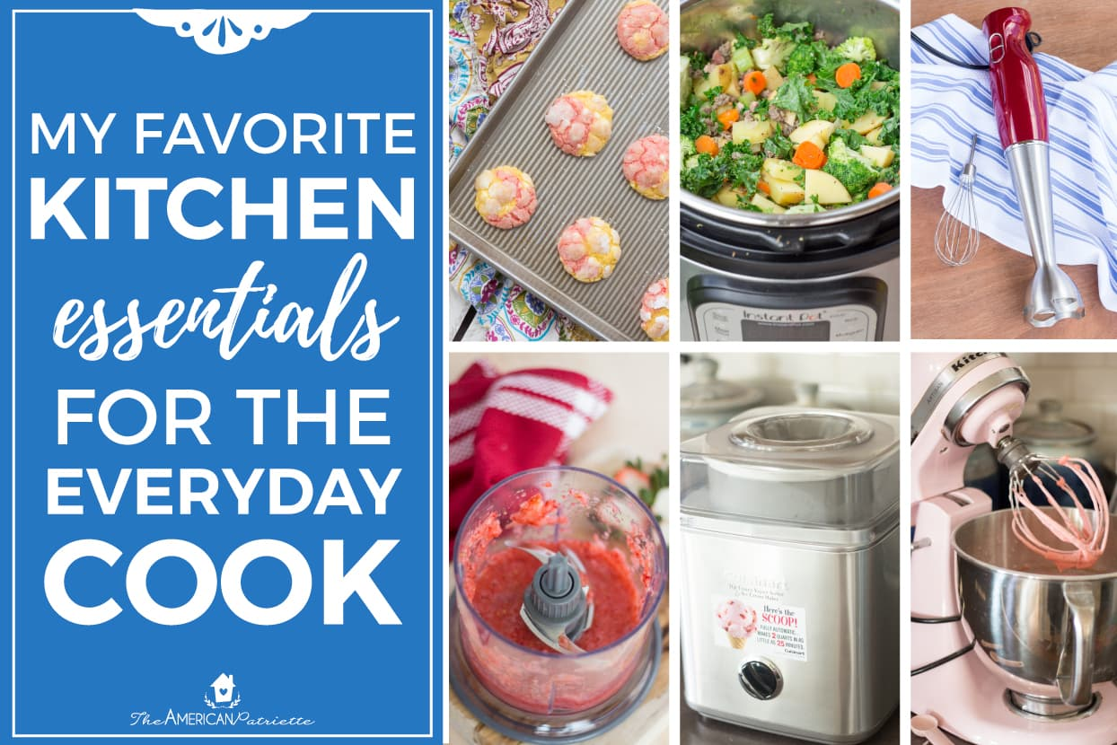 my favorite kitchen essentials for the everyday cook