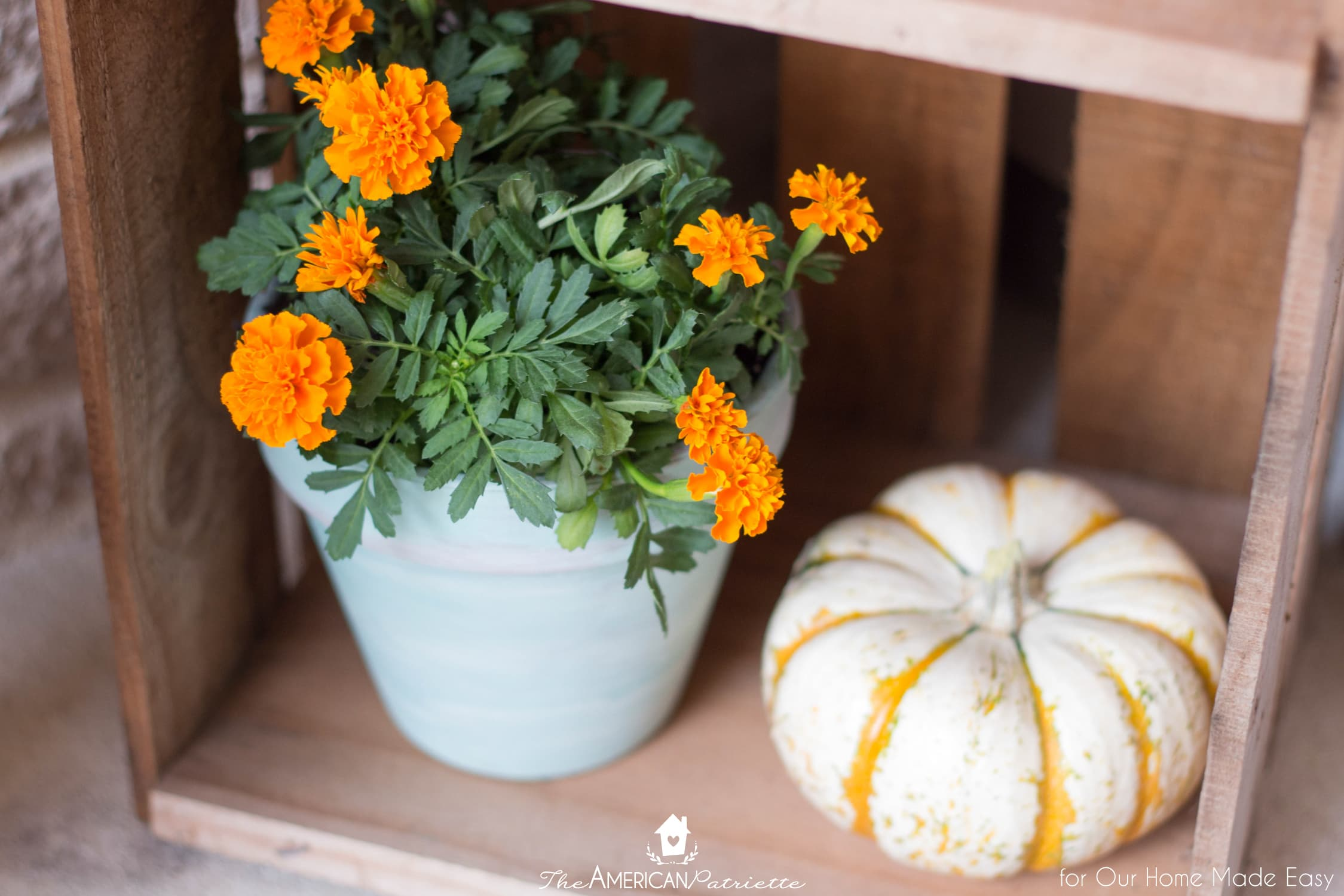 Colorful flowers make all the difference on your front porch