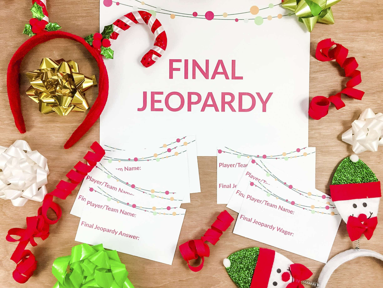 Christmas Jeopardy.Christmas Jeopardy Set Up 14 The American Patriette
