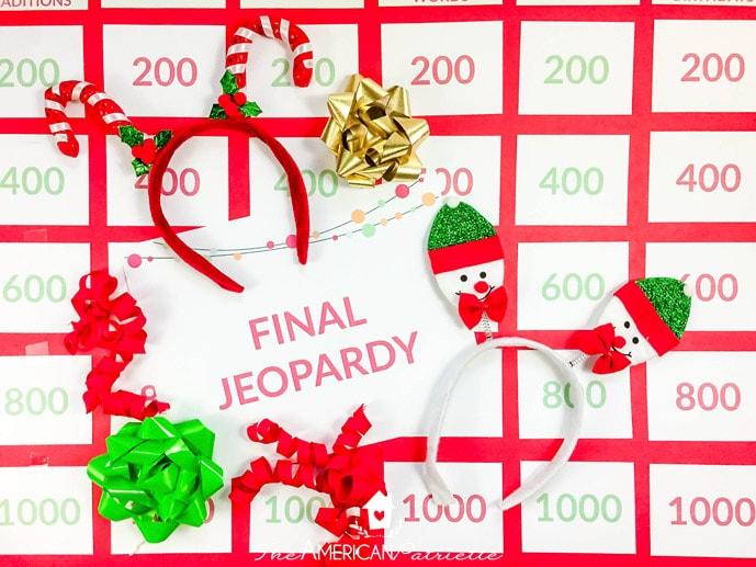 Christmas Jeopardy.Christmas Jeopardy Set Up 15 The American Patriette