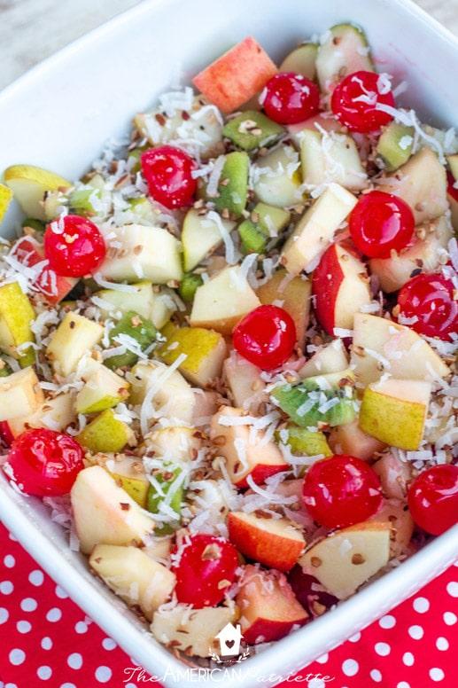 Christmas Fruit Salad.Christmas Morning Fruit Salad The American Patriette