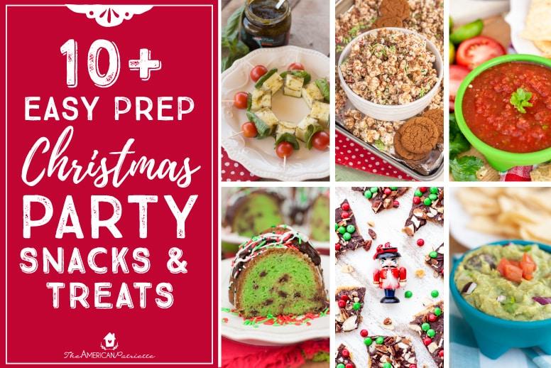 Christmas Party Snacks.Easy Prep Christmas Party Snacks Treats Day 5 Home For