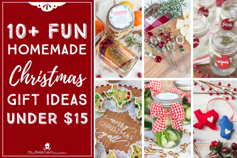 Homemade Christmas Gifts Ideas.Fun Homemade Christmas Gift Ideas Under 15 Day 4 Home For