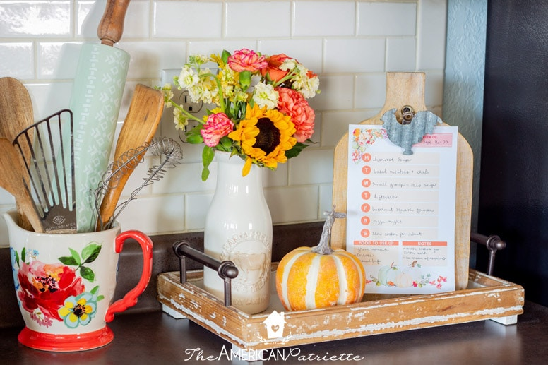 DIY Menu Board - Clip Frame for Weekly Meal Plan - The ...