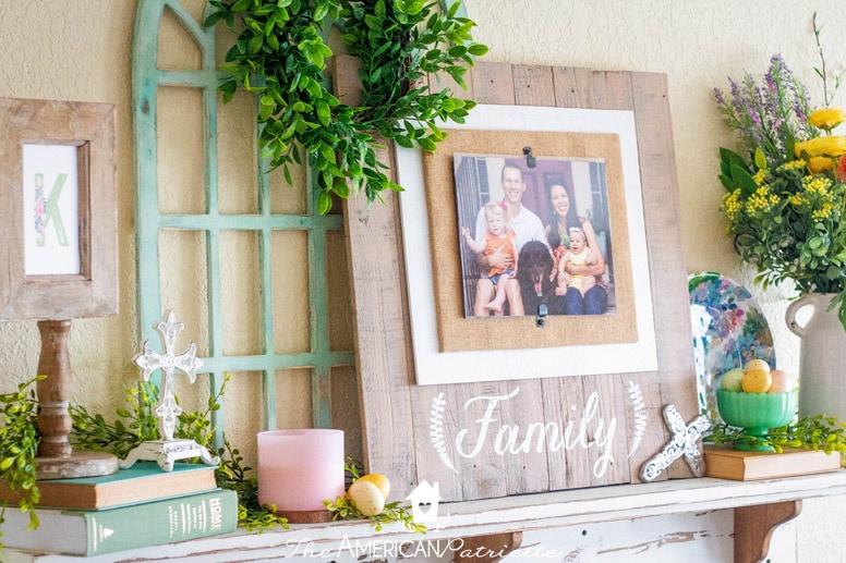 Colorful Rustic Farmhouse Style Spring Home Decor 108 The American Patriette